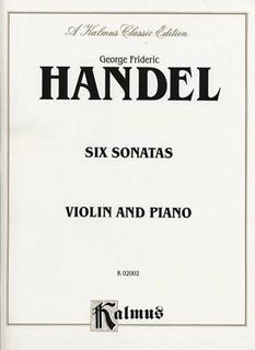 Alfred Music Handel, G.F.: Six Sonatas (Violin & Piano)