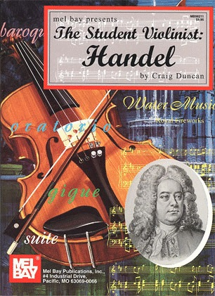 Handel/Duncan: The Student Violinist (violin & piano)