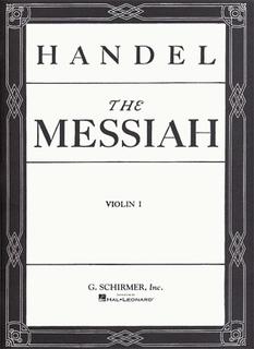 HAL LEONARD Handel: The Messiah (1st violin)