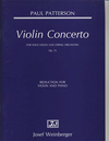 HAL LEONARD Patterson, P.: Violin Concerto Op.72 (violin & piano)