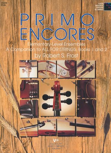 Frost, Robert: Primo Encores (3 violins)
