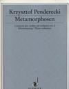 HAL LEONARD Penderecki, Krzysztof: Violin Concerto #2 Metamorphosen (violin & piano)
