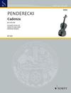 HAL LEONARD Pendereck:  Cadenza (violin & piano)