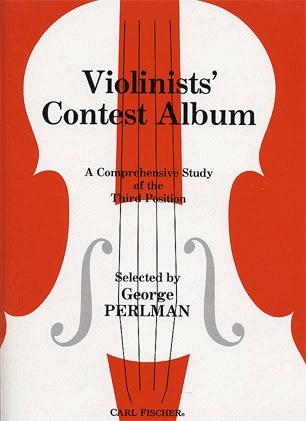 Carl Fischer Perlman George (arr): The Violinist's Contest Album (violin & piano)