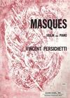 Carl Fischer Persichetti, Vincent: Masques Op.99 (violin & piano)