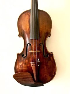 Mittenwald violin labeled Mathias Hornstainer 1771, GERMANY