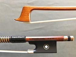 K. WERNER UEBEL *** gold violin bow, GERMANY