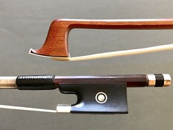 RICHARD GRUNKE silver violin bow, GERMANY