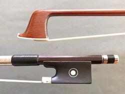 AJ MASKREY silver violin bow, USA, ca 1910-1930