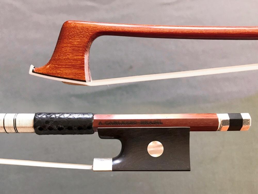 Arcos Brasil A. CARLESSO silver PECCATTE replica violin bow from ARCOS BRASIL