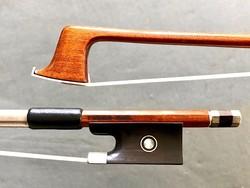 Arcos Brasil T. CHAGAS Pernambuco violin bow by Arcos Brasil, nickel-mounted, BRAZIL