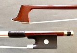 Artino ARTINO ARCHI Peccatte model violin bow, Japan, nickel-mounted