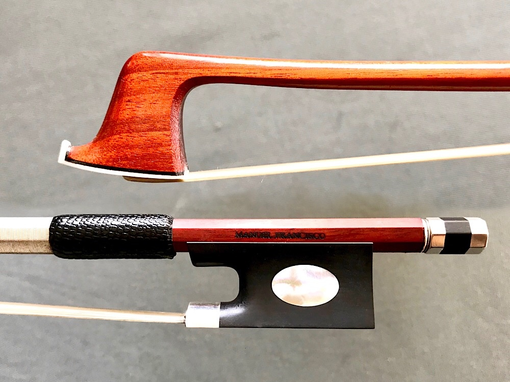 M. FRANCISCO silver Pajeot violin bow, 62 grams, Brazil