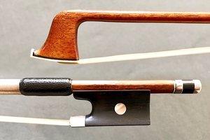 HR Pfretzschner violin bow ebony silver