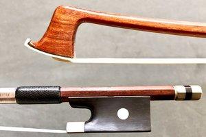 F.C. PFRETZSCHNER nickel violin bow, GERMANY