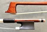 Swiss WALECKI SWISS MADE silver violin bow, by Siegfried Finkel, SWITZERLAND