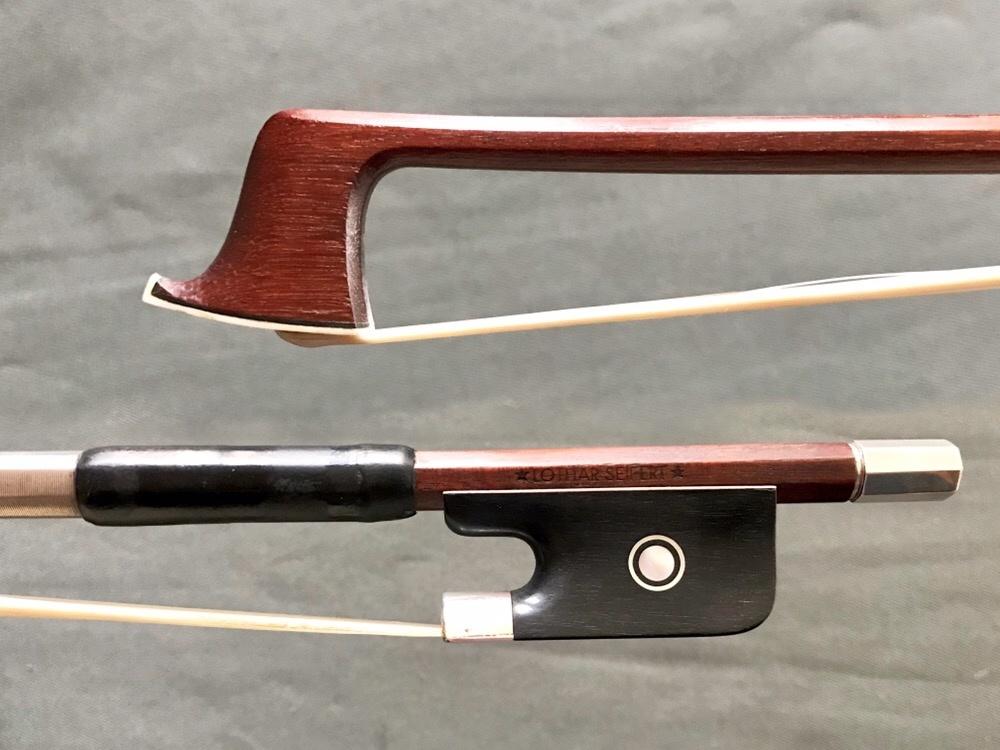 Lothar Seifert viola bow, ebony/silver