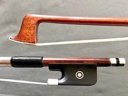 EMIL WERNER *** silver/ebony viola bow, GERMANY