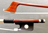 Brazilian M. PEREIRA cello bow, ebony/silver