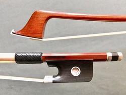 Arcos Brasil A.TINTORINI silver Special Edition cello bow, from ARCOS BRASIL