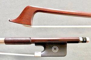 HORST SCHICKER silver/ebony cello bow, GERMANY