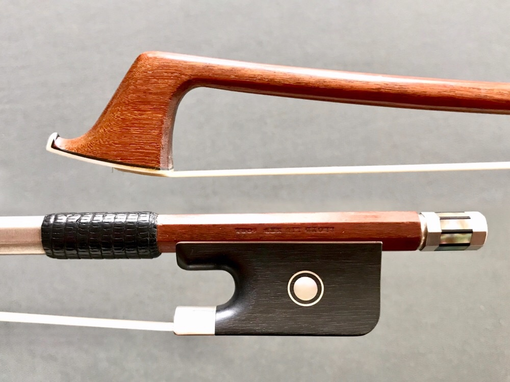 Lloyd Liu silver cello bow, New York, USA