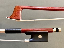 SIVORI 3/4 Pernambuco violin bow, ebony & nickel, GERMANY