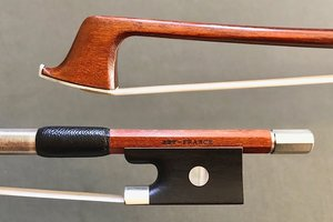 "French ARY-FRANCE 3/4 Pernambuco violin bow, ""Initiation"" FRANCE"