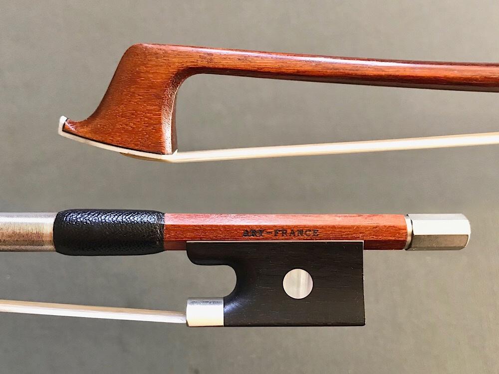 "French ARY-FRANCE 3/4 Pernambuco violin bow, ""Initiation"" FRANCE"