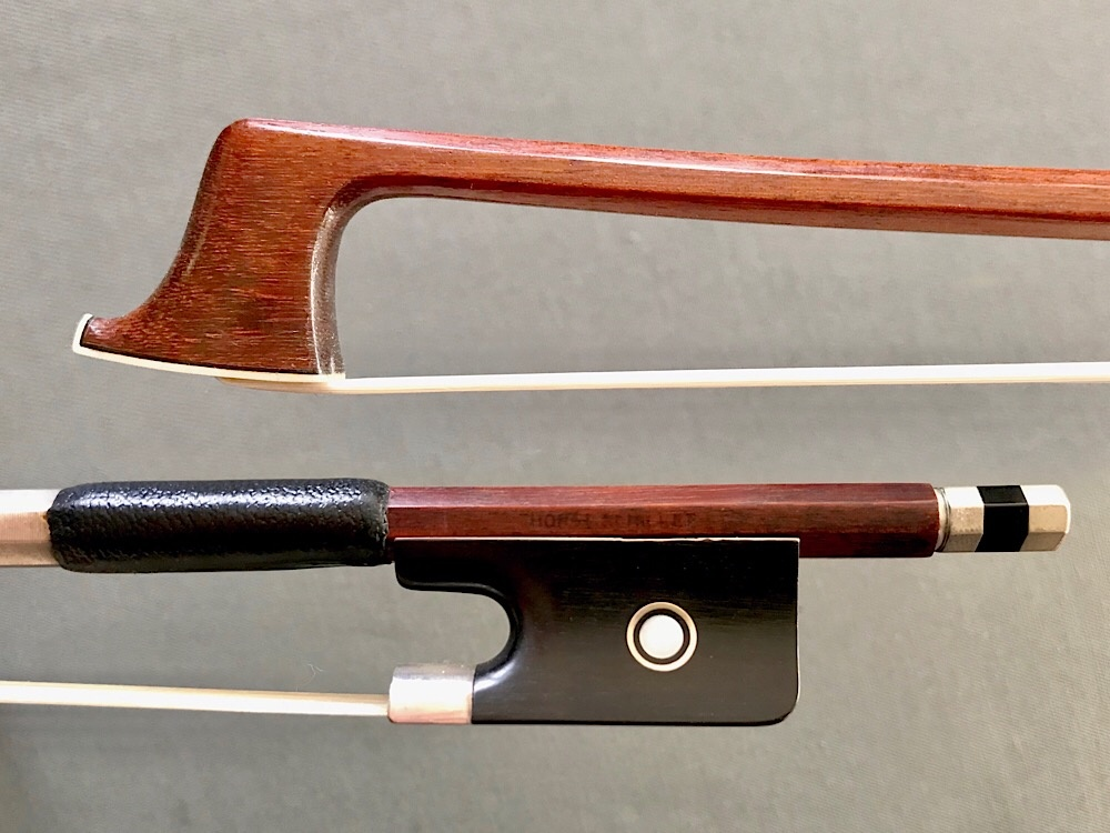 HORST SCHICKER viola bow, ebony/silver