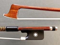Arcos Brasil viola bow, silver