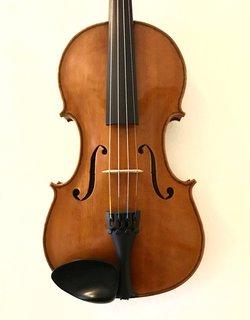 Maurice Jacob Newman violin, 1980, Los Angeles, USA