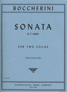 International Music Company Boccherini (Bazelaire): Sonata in C Major (2 cellos)