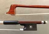 HR PFRETZSCHNER violin bow, silver & ebony, ca 1960