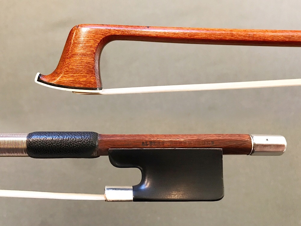 ALBERT NÜRNBERGER octagonal silver violin bow