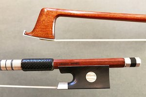 Arcos Brasil C. CHAGAS special edition silver violin bow by Arcos Brasil, BRAZIL