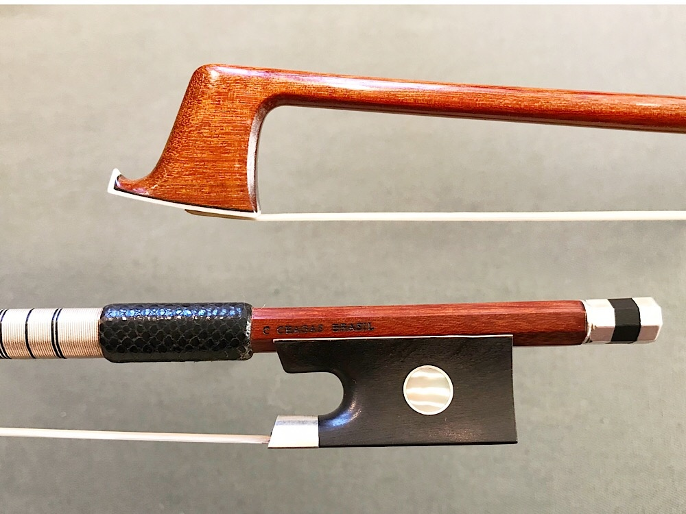 Arcos Brasil C. CHAGAS special edition silver violin bow by Arcos Brasil, BRAZIL