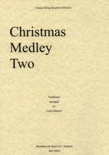 Carl Fischer Martelli: Christmas Medley Two (string quartet)
