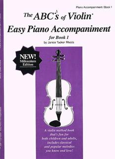 Carl Fischer POP. Rhoda: The ABC's of Violin, Bk.1 (piano accompaniment)