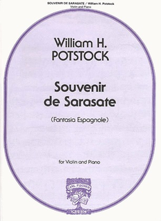 Carl Fischer Potstock, William: Souvenir de Sarasate (violin & piano)