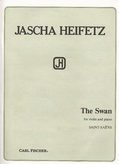 Carl Fischer Saint-Saens (Heifetz): The Swan (violin & piano)
