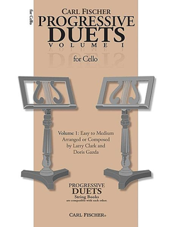 Carl Fischer Clark, Larry & Doris Gazda: Progressive Duets, Vol.1 Easy to Medium (2 cellos)
