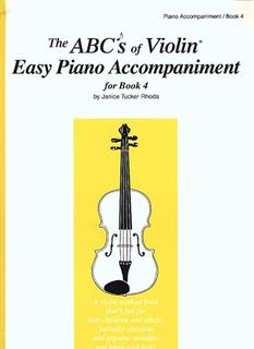 Carl Fischer Rhoda, J.T.: ABC's of Violin Vol.4 (piano acc)