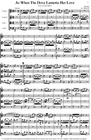 Carl Fischer Handel, G.F.: As When the Dove Laments Her Love (string quartet)