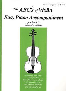 Carl Fischer Rhoda: The ABC's of Violin, Bk.3 (piano accompaniment)