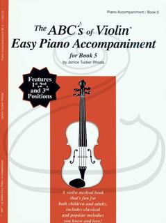 Carl Fischer Rhoda: The ABC's of Violin - Easy Piano Accompaniment, Bk.5 (piano accompaniment)