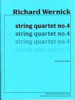 Carl Fischer Wernick, Richard: String Quartet No. 4 (score and parts)