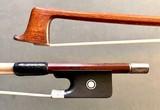 *Josef Sandner* engraved silver viola bow