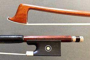 Wilhelm Raum octagonal Pernambuco violin bow, GERMANY