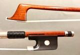 Arcos Brasil A. CARLESSO silver cello bow, copy of PECCATTE, by Arcos Brasil,  BRAZIL
